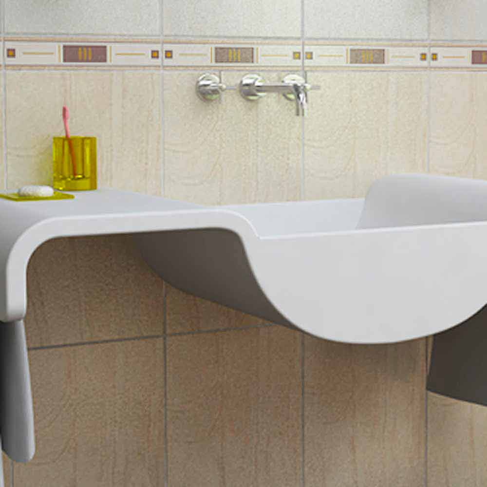 Muebles De Baño Wave:Sink muebles de baño Wave Made in Italy