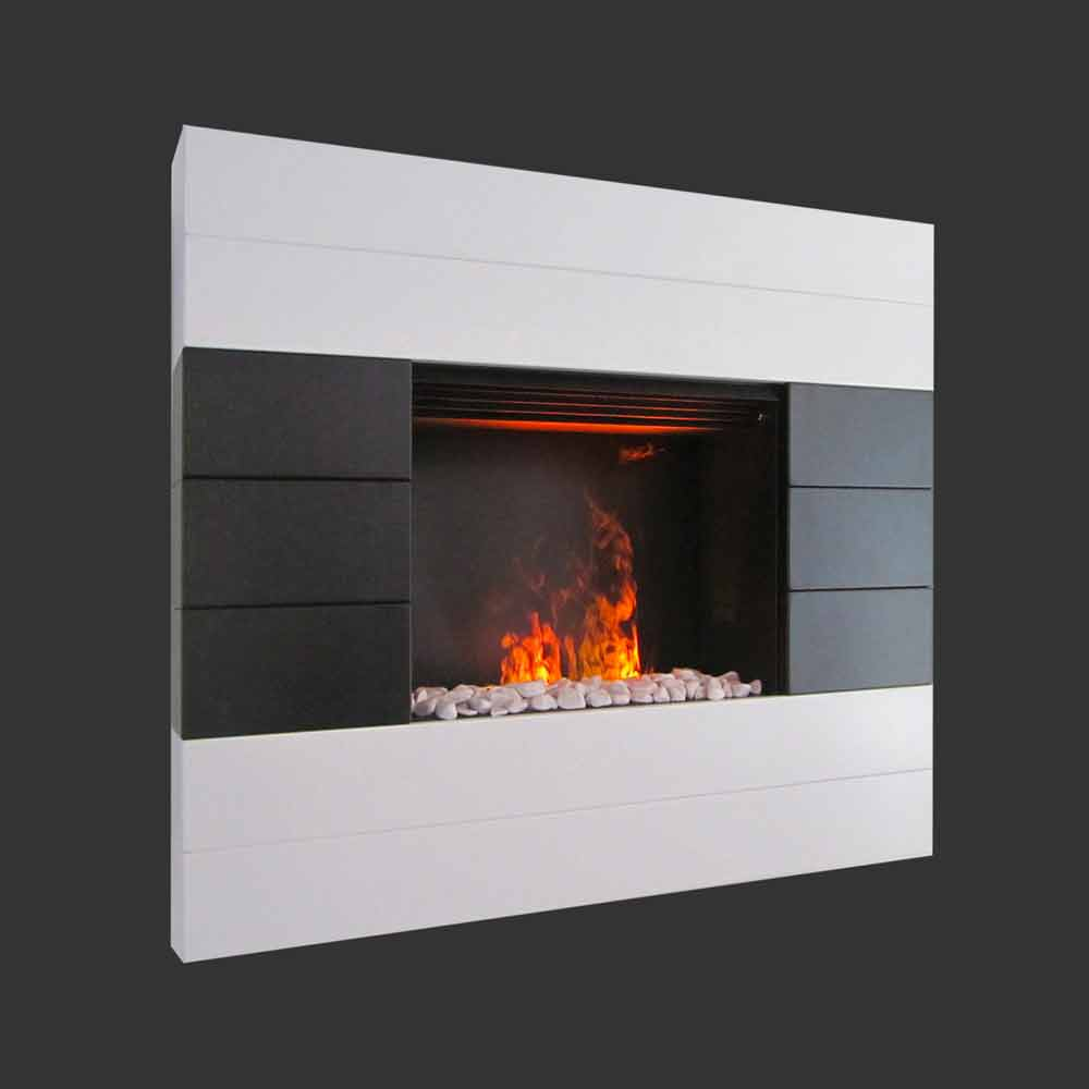 chimenea elctrica de pared besson