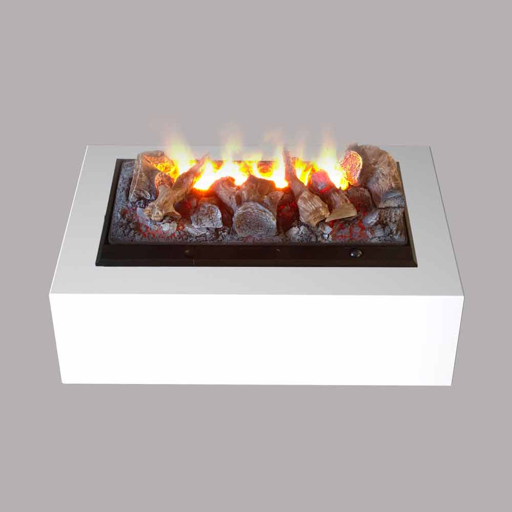 Chimenea el ctrica de mesa y de suelo modelo dickinson - Modelos de chimeneas electricas ...