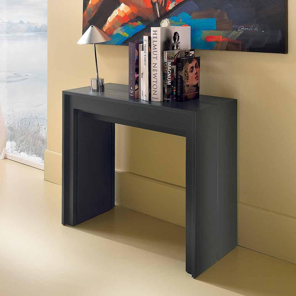 Consola extensible / mesa de comedor, l. 42.50 / 302.50xp.90 cm, Alvaro
