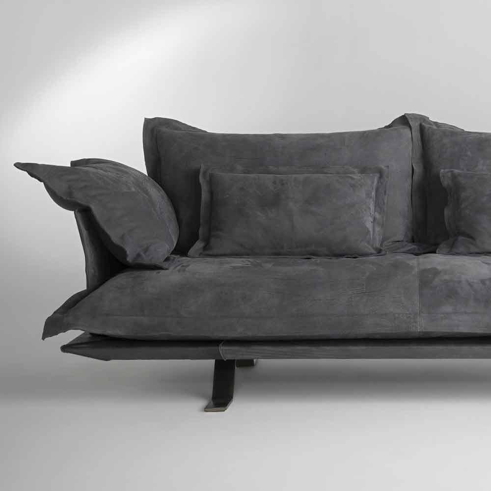 sof de dise o moderno piel shita 170 220 o 250 cm. Black Bedroom Furniture Sets. Home Design Ideas