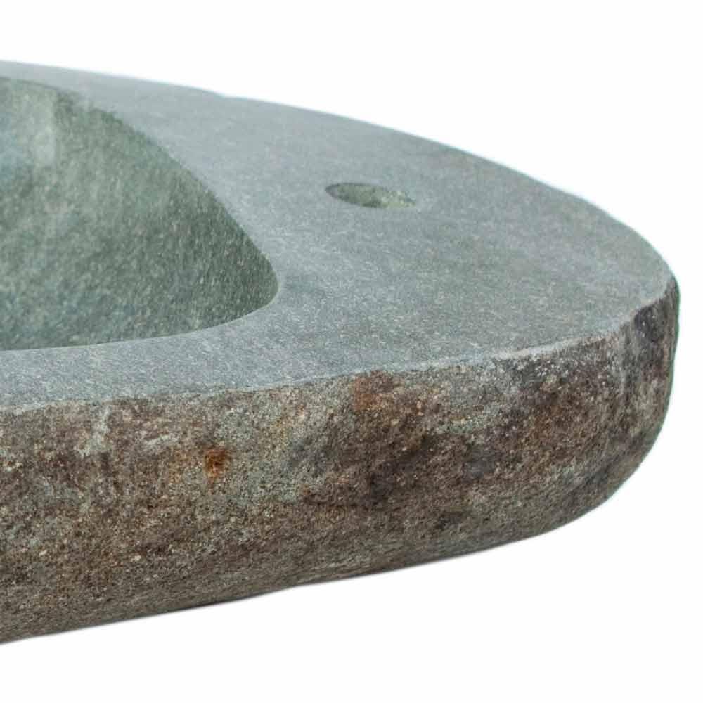 Lavabo sobre encimera realizado en piedra natural modelo kai - Encimeras de piedra natural ...
