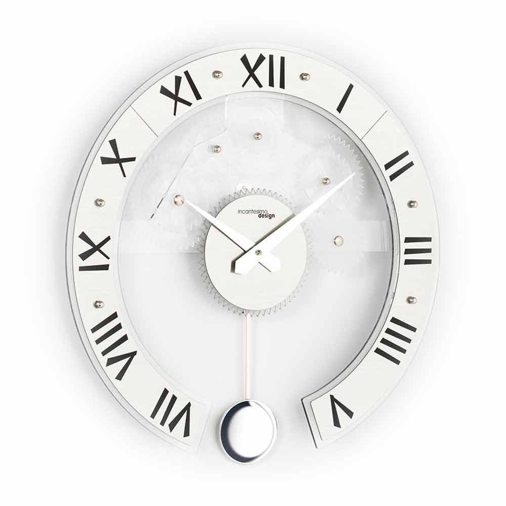 Muebles reloj de pared moderno modelo betty pendolo - Reloj de pared moderno ...
