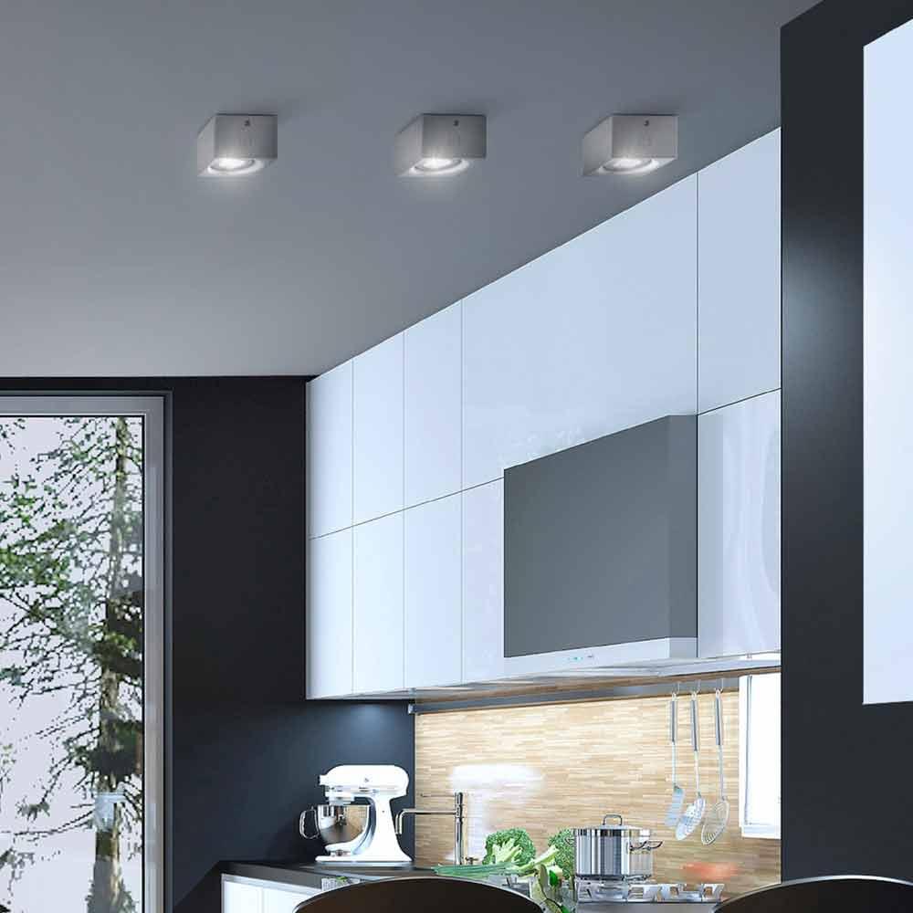 Cuadrado de yeso del techo de diseno moderno o nadir cemento for Modelos de techos de yeso