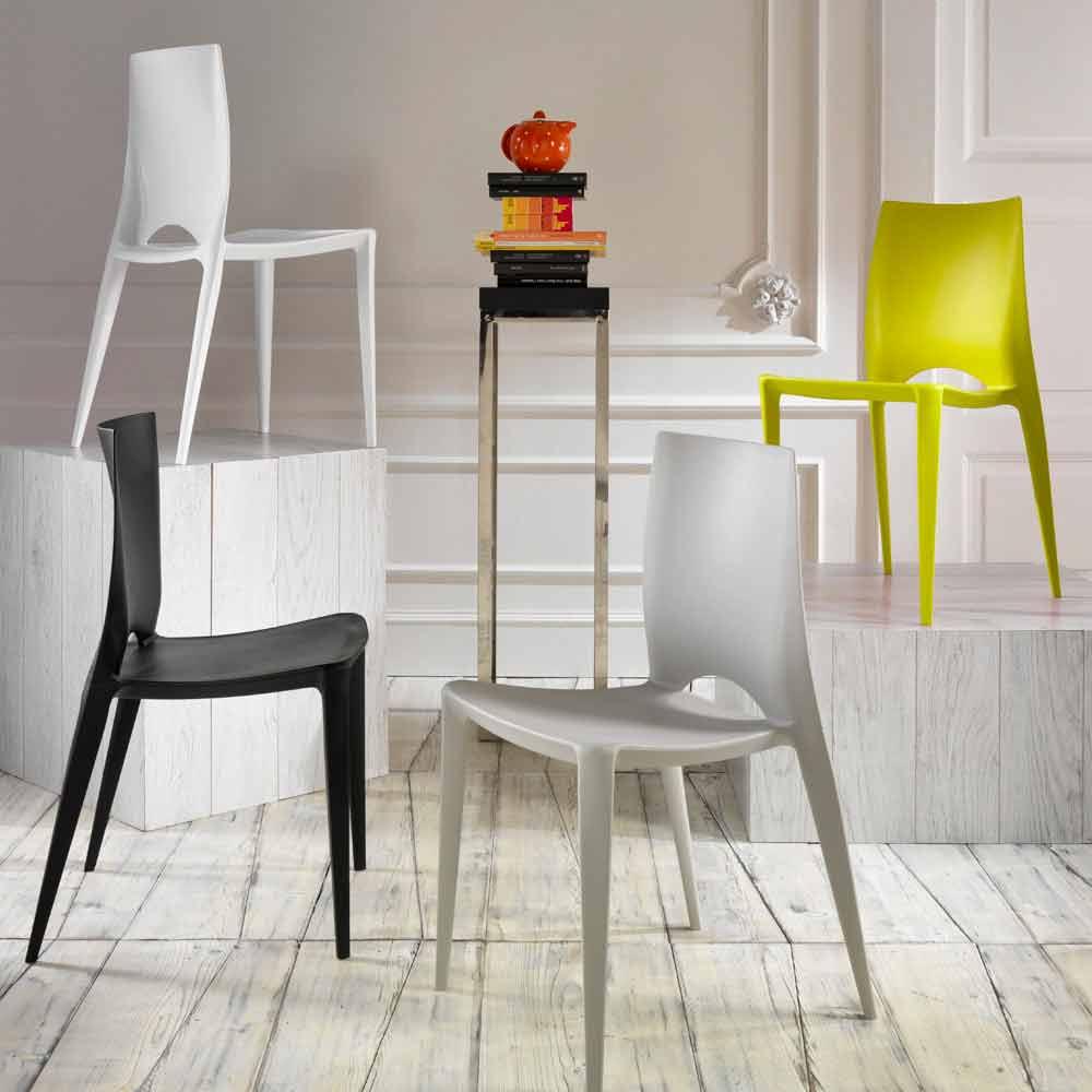 Set 4 sillas modernas de cocina o comedor modelo felicia for Sillas living modernas