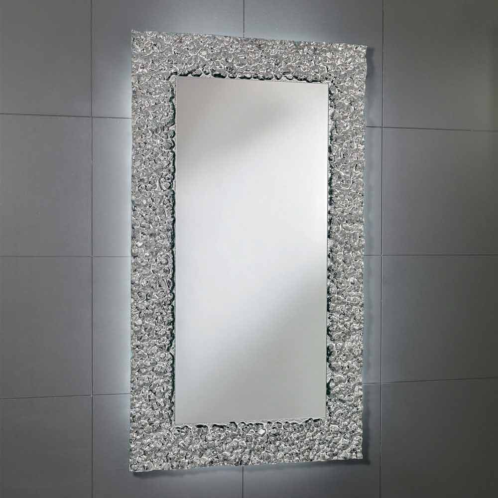 Espejo con marco de decoraci n en vidrio moderno dise o cecilia - Espejos con diseno ...