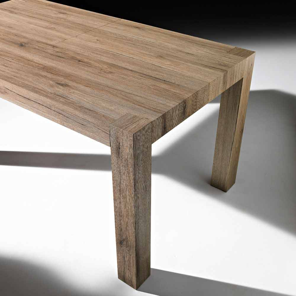 Mesa de comedor extensible moderna Oky de hasta 320 cm