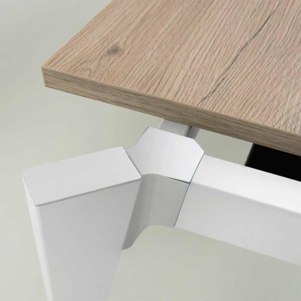 Mesa de comedor extensible con 6/8 asientos - Arnara Basic