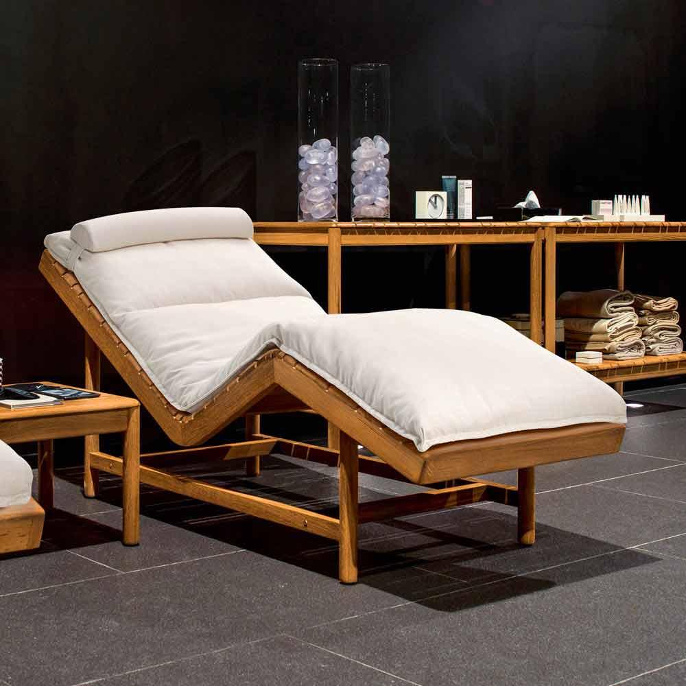 camas de jardin varaschin barcode cama de jard n moderna de interior de teca