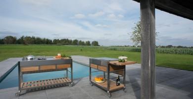 Ideas para el Exterior: Cocinas de Jardín Viadurini in the Garden