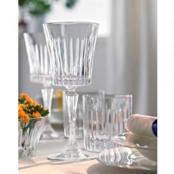 12 copas de vino de cóctel de agua cristalina ecológica de lujo - Senzatempo