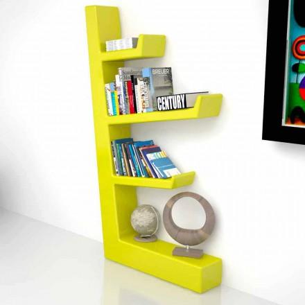 Librería de diseño sólido en Solid Surface Austen, fabricada en Italia.