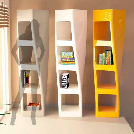 Librería de diseño moderno en superficie sólida Collins
