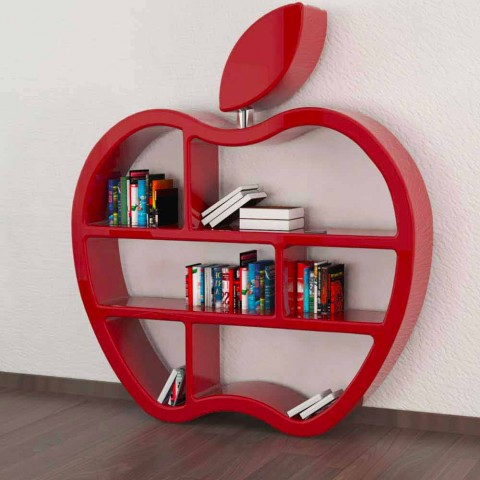 Librería de diseño moderno de gula, hecha en Italia.