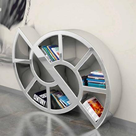 Librería de diseño moderno hecha a mano en Italia Nicol.