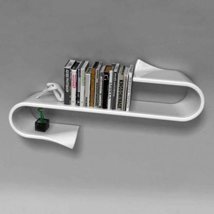 Estantería de diseño moderno Waveshelf Viadurini Design Made in Italy