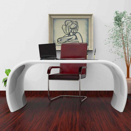 Escritorio de oficina de diseño moderno hecho en Italia Ola