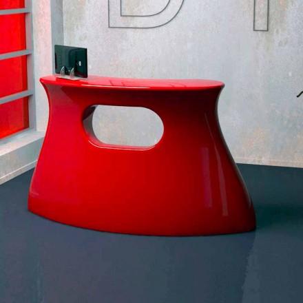 Mesa de diseño fabricada en Italia modelo Bob