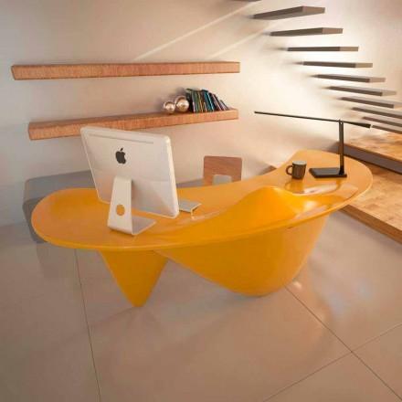 Escritorio oficina moderno hecho a mano en Italia Sinuous