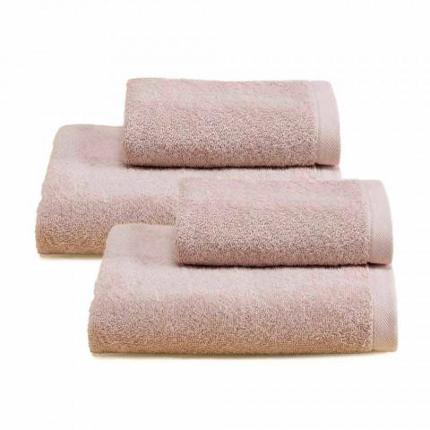 Servicio de 2 pares de toallas de baño en algodón Spguna - Vuitton