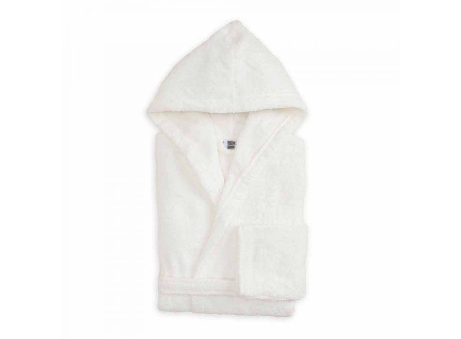 Albornoz de colores con capucha de lujo en felpa de algodón - Vuitton