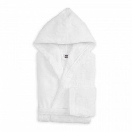 Albornoz de colores de lujo con capucha en felpa de algodón - Vuitton
