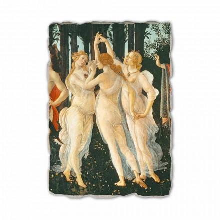 Fresco Botticelli Alegoría de la Primavera- fragmento