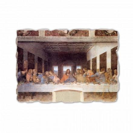 Fresco Leonardo Da Vinci,La última cena, hecho en Italia