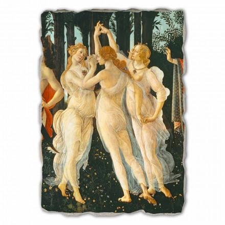Fresco grande Botticelli Alegoría de la Primavera-frag.