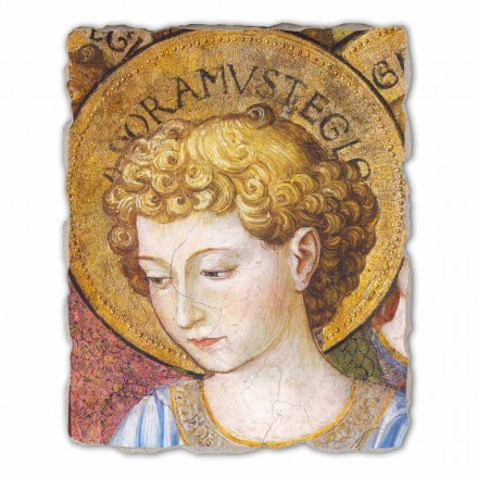 Fresco grande Benozzo Gozzoli, Ángeles adoración- 1454