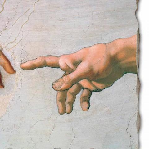 """gran fresco de Miguel Ángel de la """"Creación de Adán"""", en particular"""