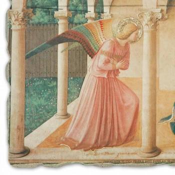 """Beato Angelico reproducción fresco """"Anunciación"""" hecha a mano"""