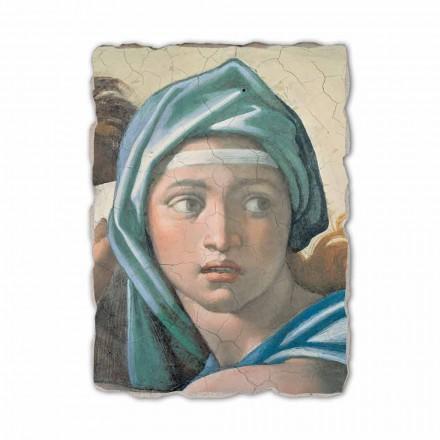 Fresco reproducción Michelangelo Sibila Délfica