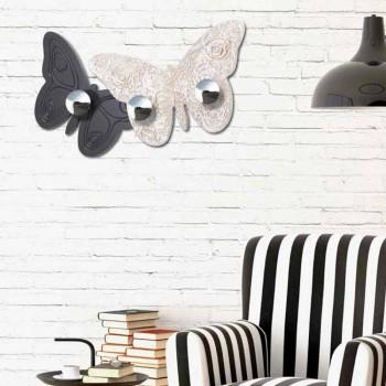 Percheros de pared de diseño Melitea de Viadurini Decor