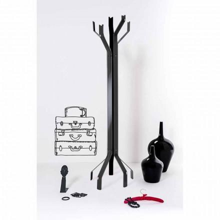 Gancho negro con 5 ganchos Andrea, diseño moderno