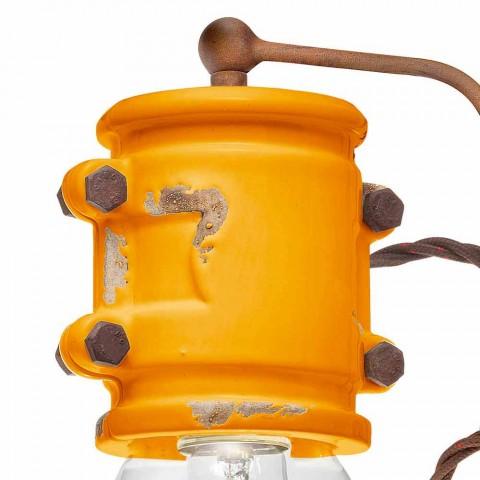 centro de atención Applique hecho a mano de cerámica de estilo urbano Bet Ferroluce