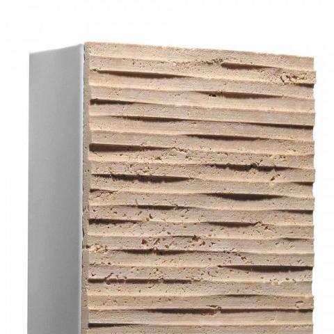 Aplique de piedra y metal Serafini Marmi Pedra hecho en Italia