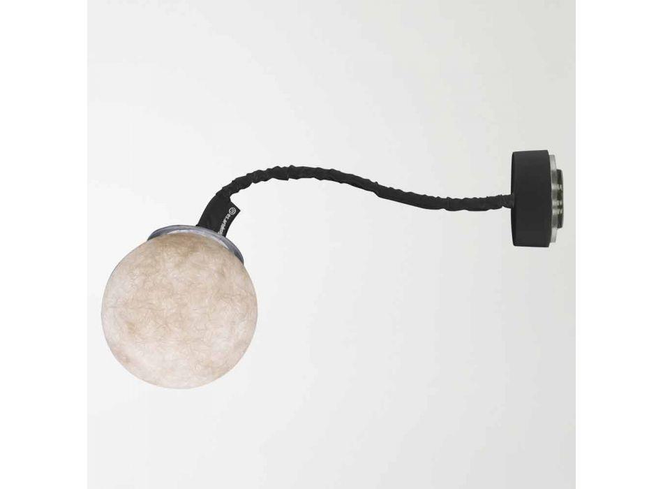 Aplique moderno In-es.artdesign Micro Luna Nebulita aplique de pared