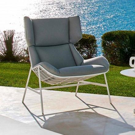 Sillón de jardín bergere de diseño moderno de Varaschin Summer Set