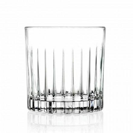 Vasos bajos Double Old Fashioned 12 piezas de lujo - Senzatempo