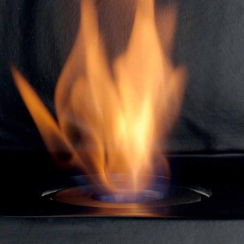 encimera Biocamino con bioetanol cerámica y acero Curtis