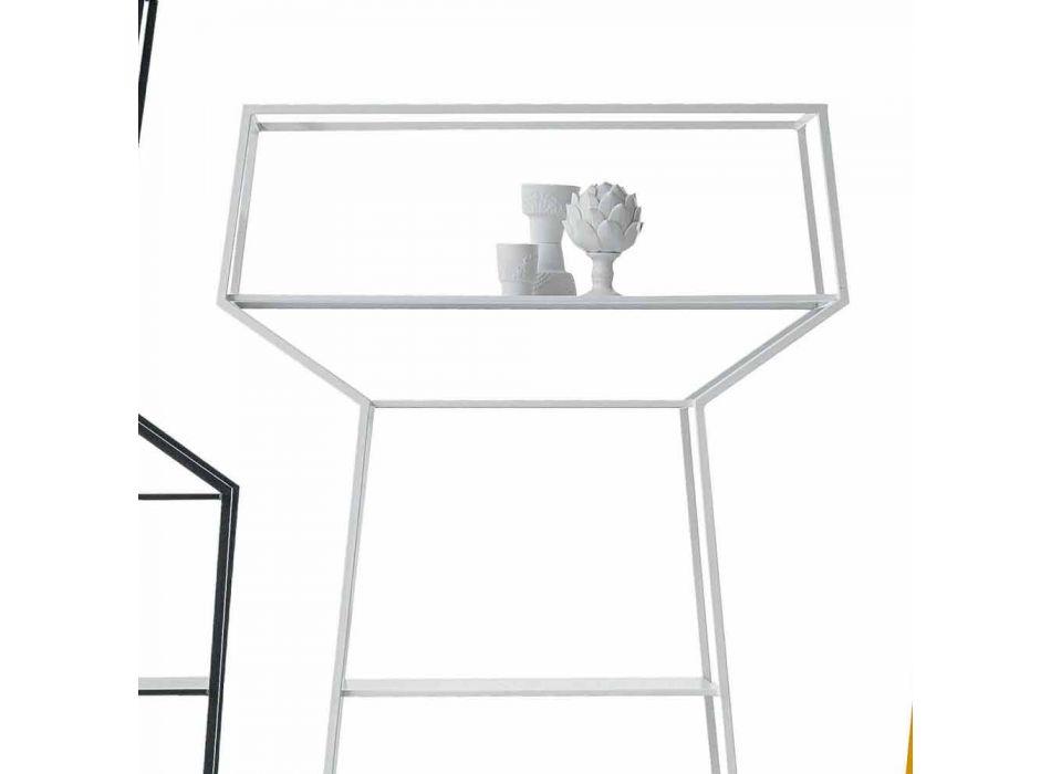 Bonaldo puede estante de metal de diseño colorido H171xL91cm hecho en Italia