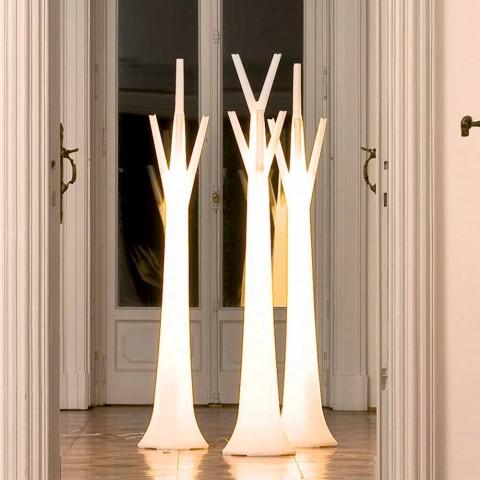 Bonaldo Colgador de árbol con luz de polietileno fabricado en Italia