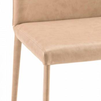 Carly silla de comedor de diseño moderno hecha en Italia