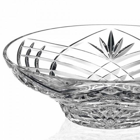 Centro de Mesa de Diseño Vintage en Cristal Ecológico 2 Piezas - Cantabile