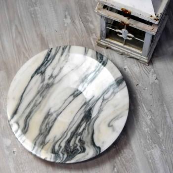 Centro de mesa en mármol y metal Brezza della Versilia Made in Italy - Amabile