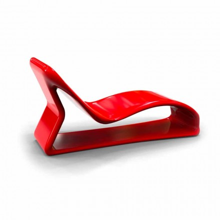 Chaise Longue de diseño moderno hecha en Italia modelo Kobra