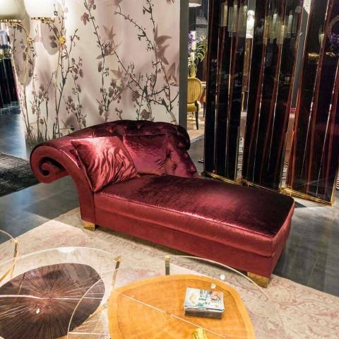 diván clásico con tela 100% Made in Italy Basco