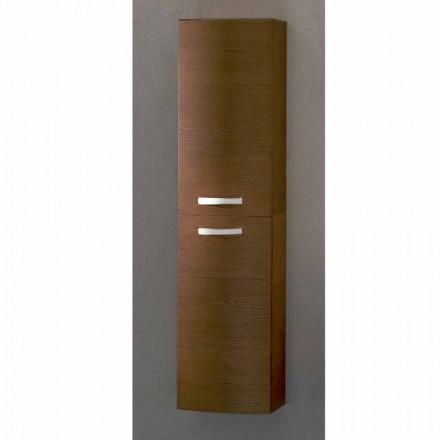 Columna suspendió baño con 2 puertas de madera de roble alegría, fabricado en Italia