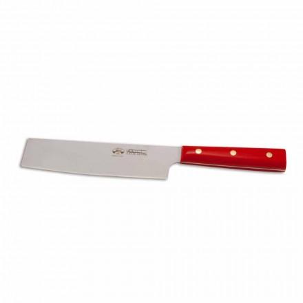 Cuchillo para verduras de acero inoxidable Berti exclusivo para Viadurini-Binago